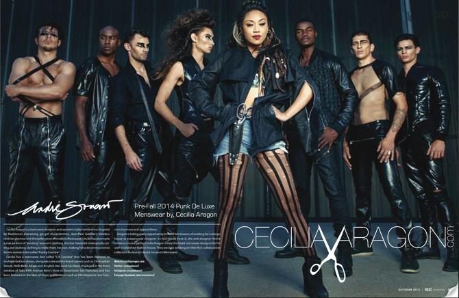 Menswear Designer Of Andre Soriano Cecilia Aragon