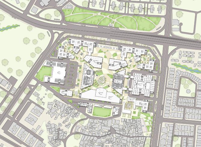 Urban Design Bhikaji Cama Place New Delhi on Office Space Floor Plan Design