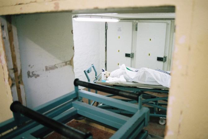 The Embalming Room Sarah Abrams